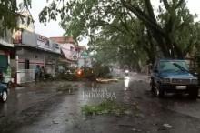 Ratusan Rumah di Cianjur Rusak Akibat Puting Beliung