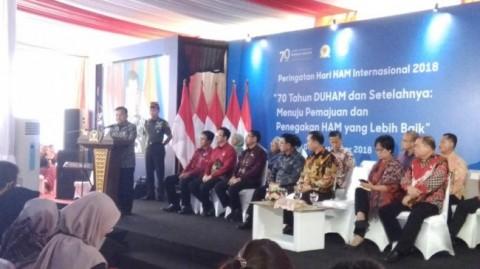 VP Kalla Attends Human Rights Day Celebration at Komnas HAM