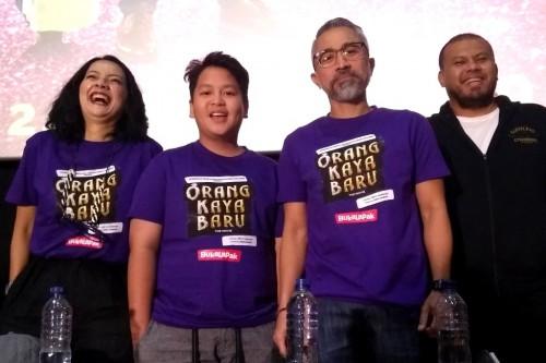 Pemeran film Orang Kaya Baru (Foto: Medcom/Purba)