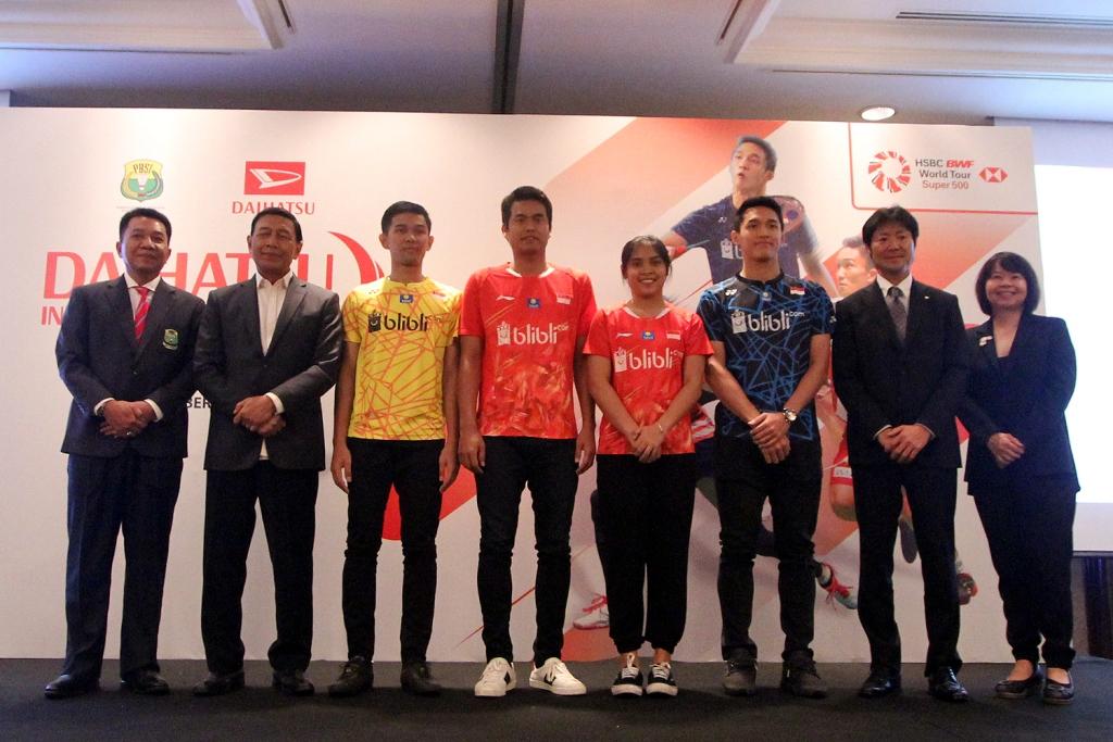 peluncuran Indonesia Master 2019 (Dok. PBSI)