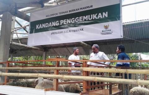BAZNAS Kembangkan Balai Ternak di Magelang