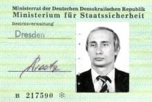 Kartu Intelijen Milik Putin Ditemukan di Jerman