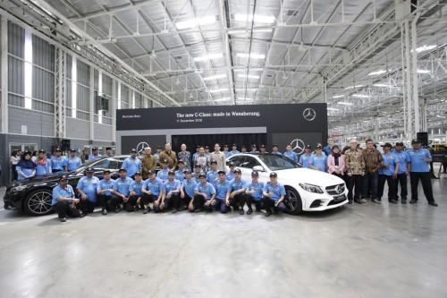 Mercedes-Benz C-Class terbaru akan tersedia di 2019.