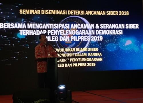 Kepala BSSN Djoko Setiadi--Medcom.id/Faisal Abdalla.