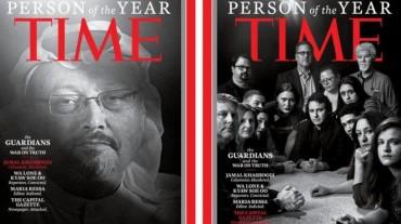 Khashoggi dan Sejumlah Jurnalis jadi 'Person of The Year' Majalah TIME