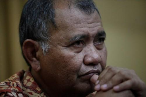 KPK chairman Agus Rahardjo (Photo:MI/Rommy Pujianto)