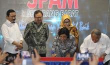Pemerintah Resmikan Proyek KPBU SPAM Semarang Barat