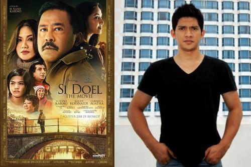 Poster film Si Doel (falcon) - Iko Uwais (MI-Immanuel Antonius)