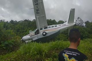 Pesawat Tergelincir di Papua, Tujuh Penumpang Selamat