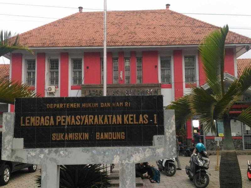 Suasana Lapas Sukamiskin Bandung, Jawa Barat. Medcom.id/Roni Kurniawan