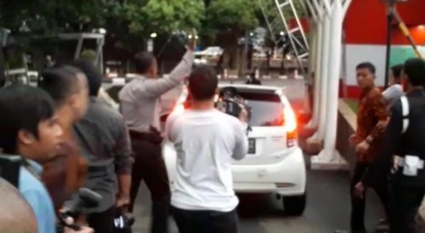 Ketua PN Semarang Tabrak Wartawan Usai Dipanggil KPK