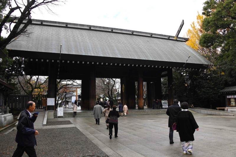Kuil Yasukuni, tempat para pahlawan perang Jepang dihormati oleh warga setempat. (Foto: AFP).