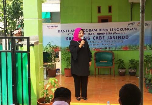 Kepala Biro Program Kemitraan dan Bina Lingkungan PT Jasindo