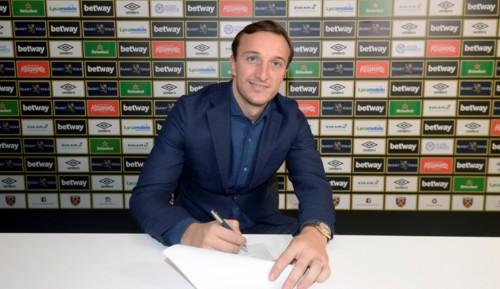 Kapten West Ham, Mark Noble, menandatangani kontrak anyar