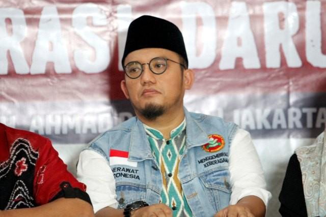 Mantan Ketua PP Pemuda Muhammadiyah Dahnil Anzar Simanjuntak. Foto: MI/Rommy Pujianto