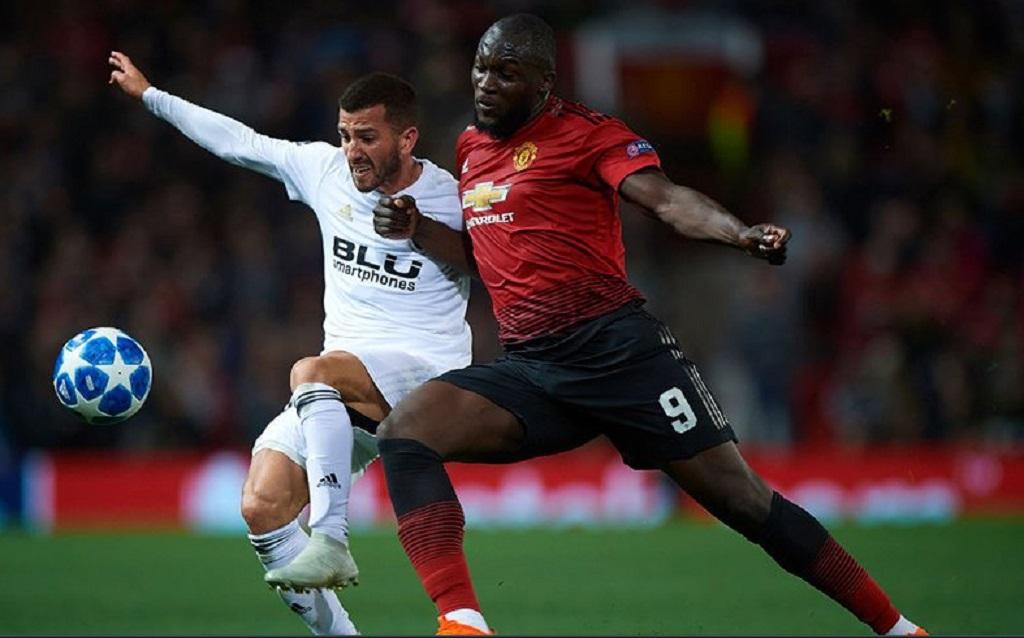 Laga Valencia kontra Manchester United (Twitter/United Yard)