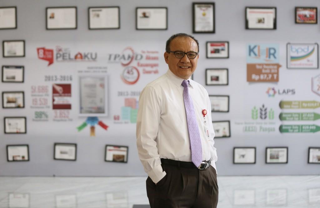 Ketua Satgas Waspada Investasi Tongam Lumban Tobing (MI/RAMDANI)