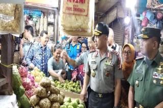Kapolda Jabar Temukan Harga Pangan di Bandung Stabil