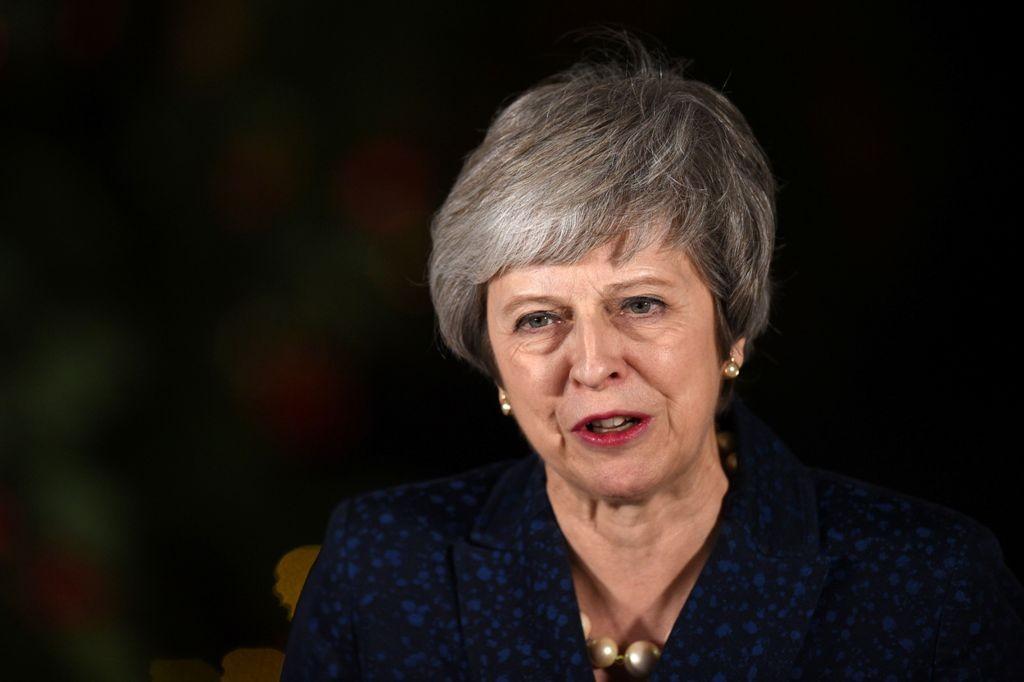 PM Inggris Theresa May. (Foto: AFP)