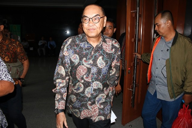 Terdakwa kasus dugaan suap proyek PLTU Riau-1 Johannes Budisutrisno Kotjo/MI/Bary Fathahilah
