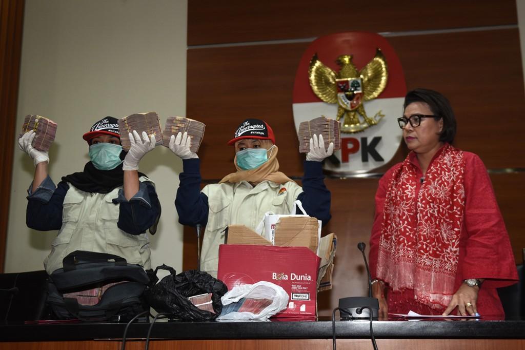 KPK Tetapkan Bupati Cianjur sebagai Tersangka