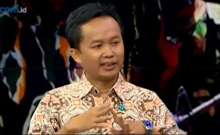 Ketua tim peneliti Papua Lembaga Ilmu Pengetahuan Indonesia (LIPI) Cahyo Pamungkas. (Foto: Metro TV)