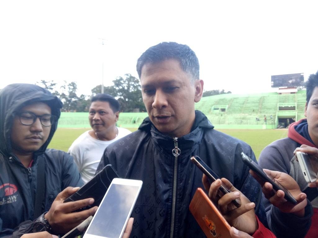 CEO Arema FC, Iwan Budianto. (Foto: medcom.id/Daviq Umar)