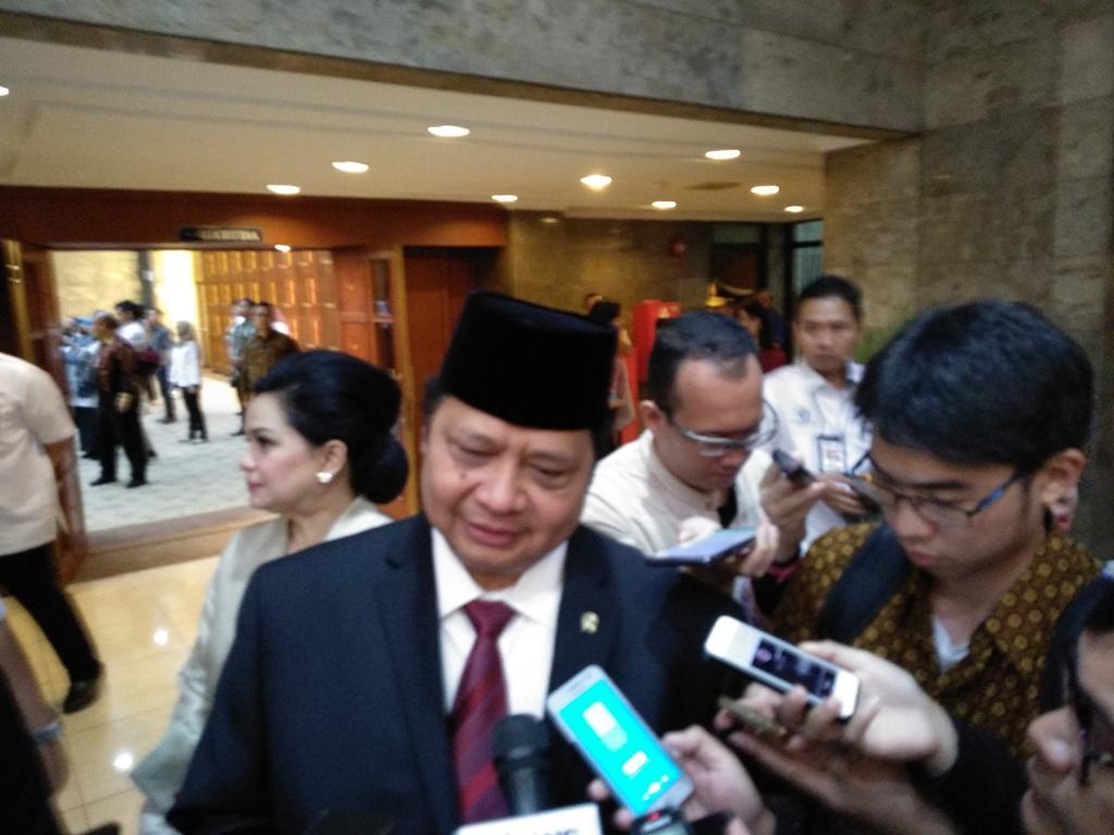 Menteri Perindustrian Airlangga Hartarto. (FOTO: Medcom.id/Desi Angriani)