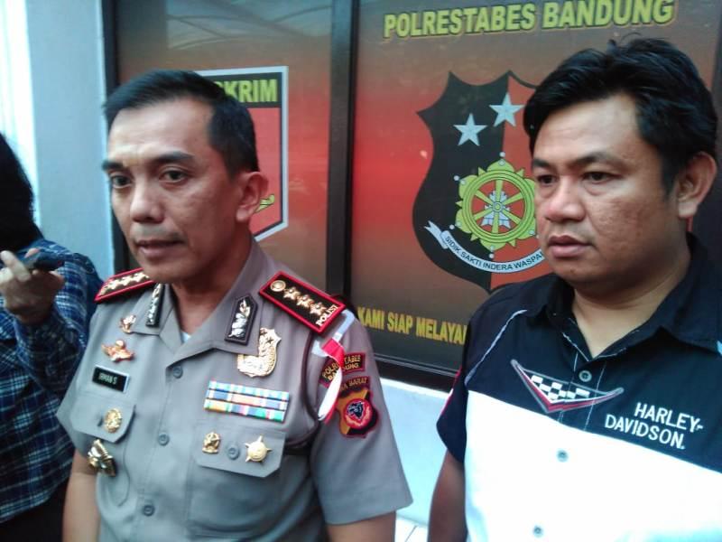 Kepala Polrestabes Bandung Kombes Pol Irman Sugema, di Markas Polrestabes Bandung, Kamis, 13 November 2018.