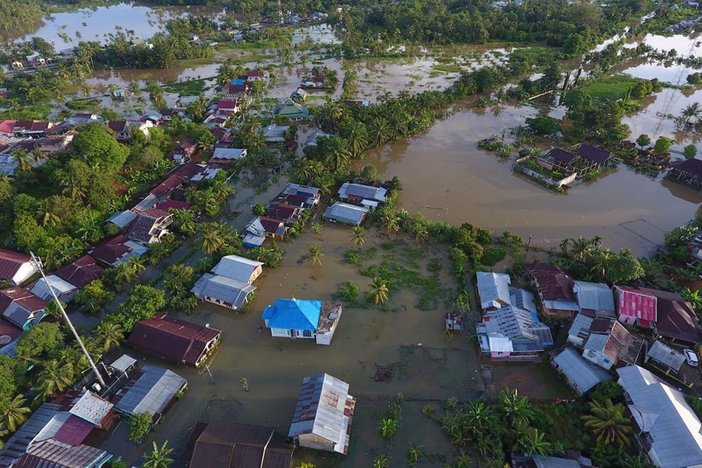 Banjir Rendam Ratusan Rumah di Bengkulu