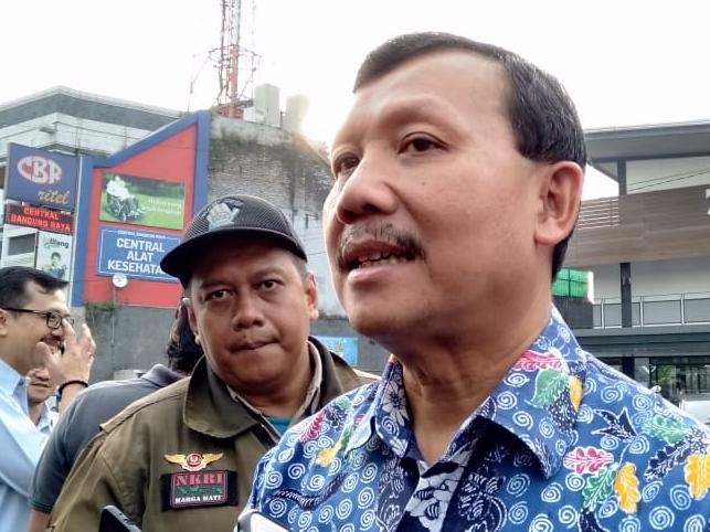 Sekretaris Daerah Pemerintah Provinsi Jawa Barat Iwa Karniwa. Medcom.id/P. Aditya Prakasa