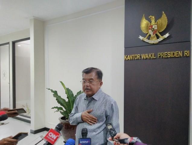 Wakil Presiden RI Jusuf Kalla--Medcom.id/Dheri Agriesta.