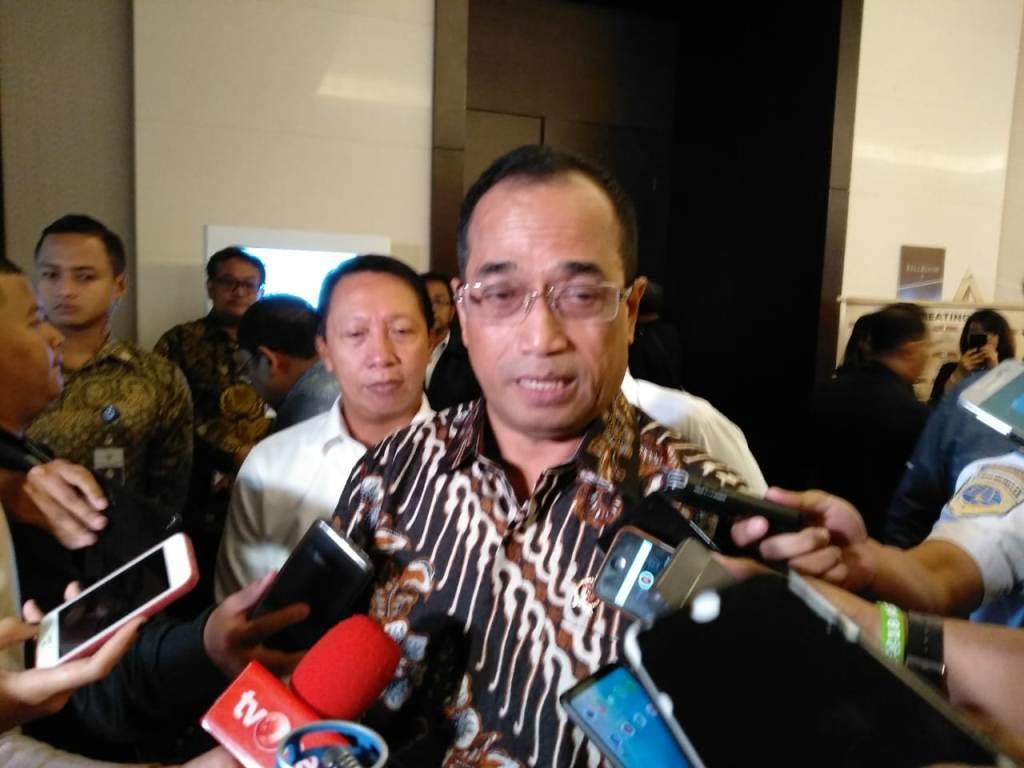 Menteri Perhubungan Budi Karya. (FOTO: Medcom.id/Desi Angriani)
