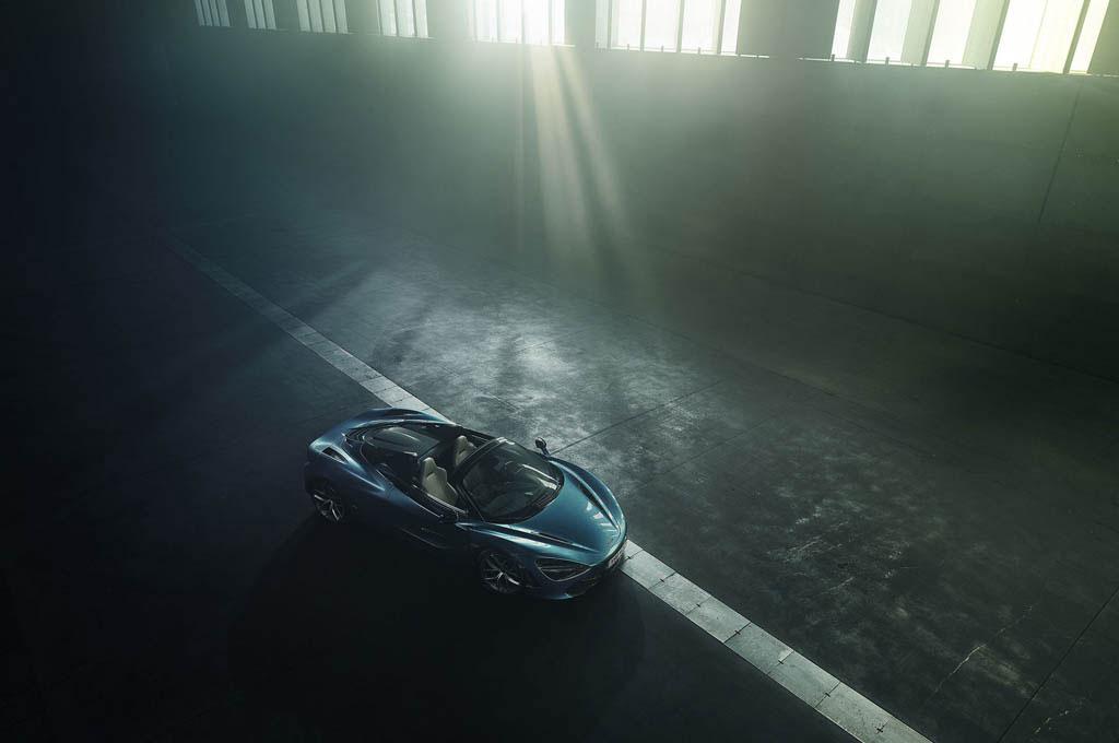 Mclaren 720S Spider akan dihantarkan kepada konsumen per Maret 2019. McLaren