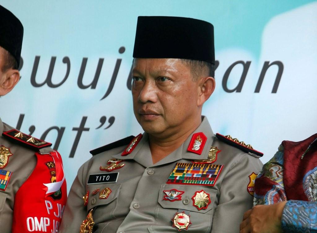Kapolri Jenderal Tito Karnavian. Foto: MI/Rommy Pujianto