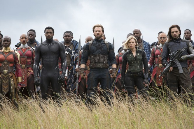 Peperangan terakhir di Infinity War penuh dengan visual effect.