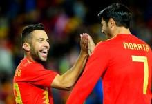 Jordi Alba Siap Sambut Morata di Barcelona