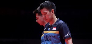 Marcus/Kevin Mudur dari World Tour Finals 2018