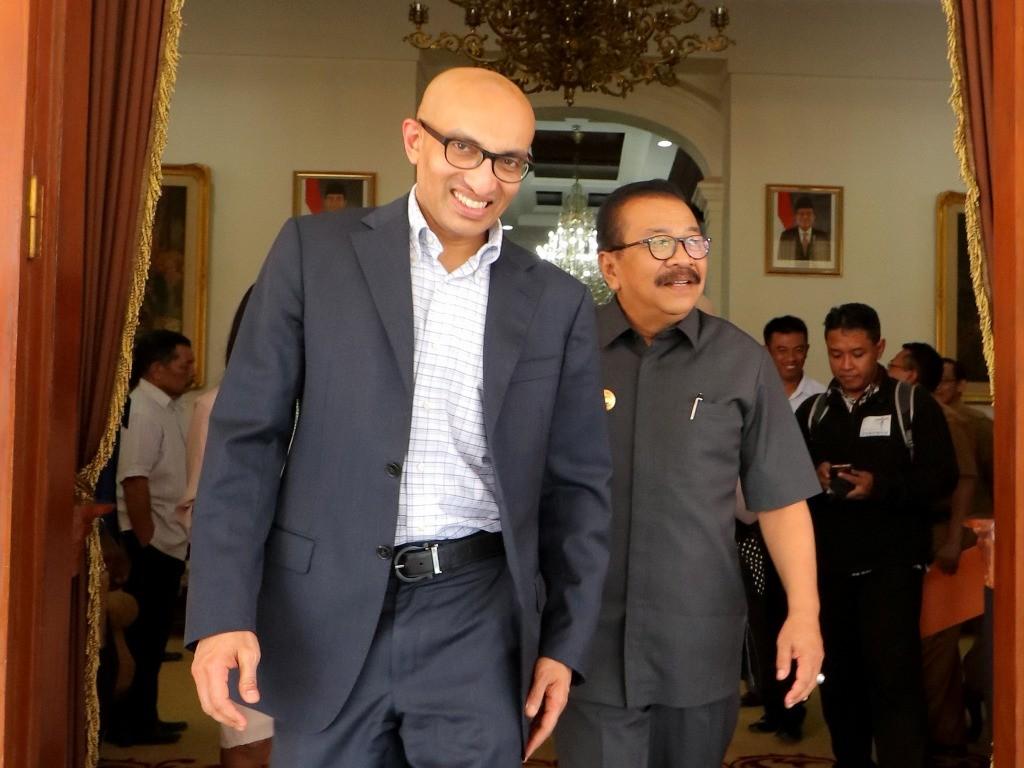 Duta Besar Singapura untuk Indonesia, Anil Kumar Nayar. (Foto: ANTARA/Didik Suhartono).