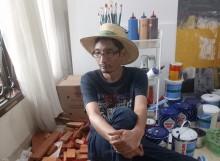 Harlan Boer Rilis Album Disertai Pameran Lukisan Bila Lapar