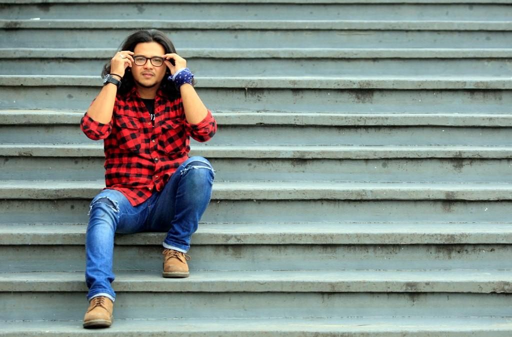 Ramon Yusuf Tungka gemar membagikan pengalaman travelingnya via blog. (Foto: MI/Adam Dwi)