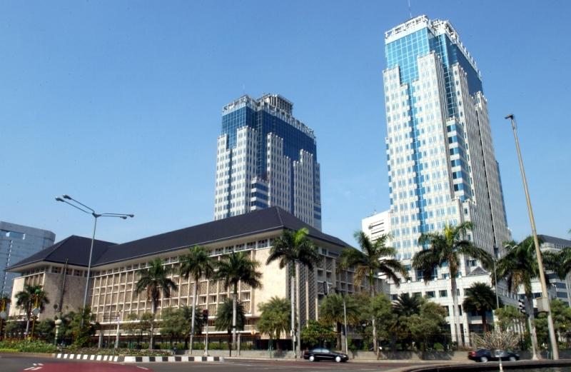 Gedung Bank Indonesia (MI/SUSANTO)
