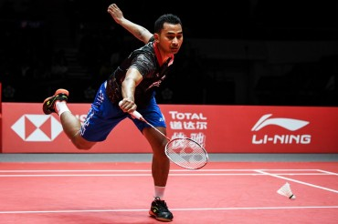 Tommy Sugiarto Kalah, Wakil Indonesia Habis sebelum Semifinal