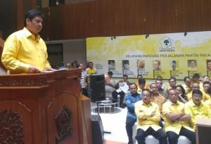 Golkar Sanksi Kader yang tak Dukung Jokowi-Ma'ruf