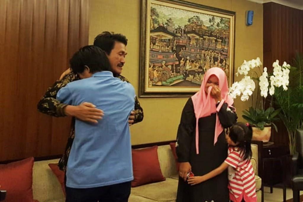 Satu WNI yang Disandera di Filipina Diserahkan ke Keluarga