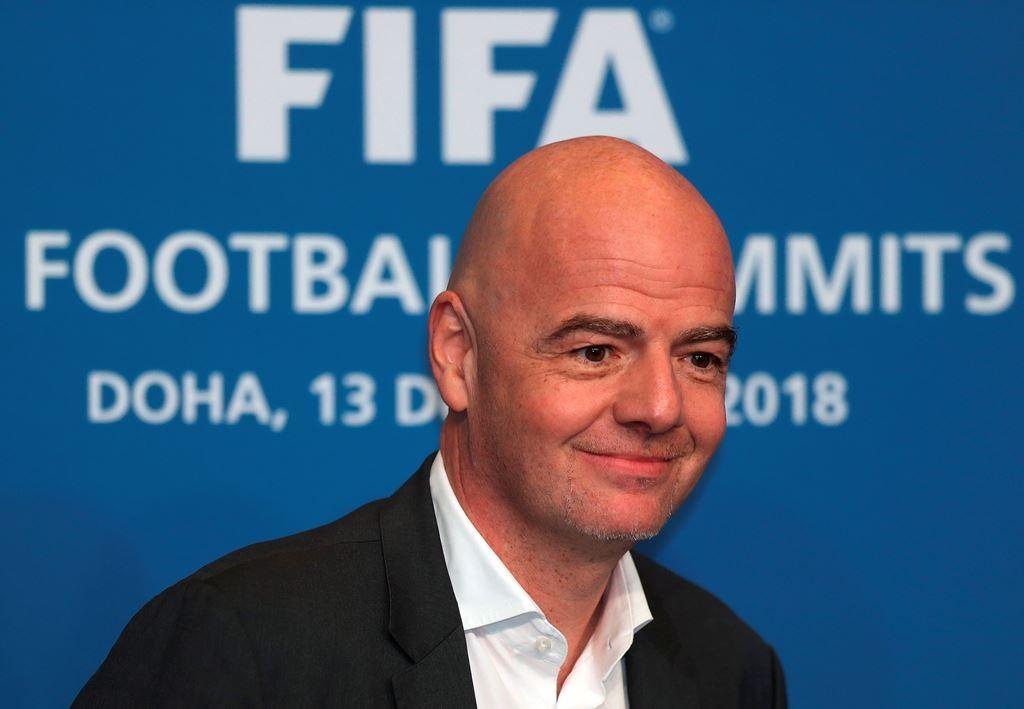 Presiden FIFA, Gianni Infantino (AFP/Karim Jafaar)