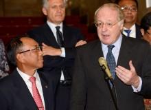 Koper Presiden Milan Dicuri, Rp 165 juta Hilang