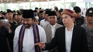 Surya Paloh Beri Kuliah Kebangsaan di Ponpes Nahdlatul Wathan