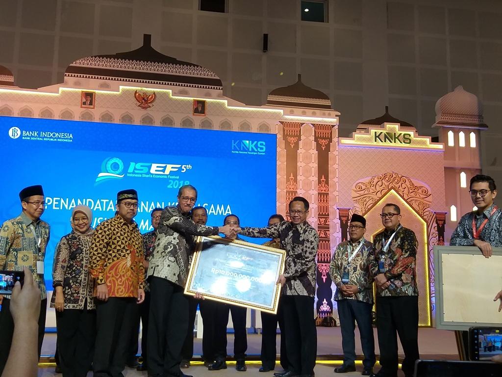 Suasana Indonesia Sharia Economic Festival (ISEF) 2018 (Foto: Bank Indonesia)