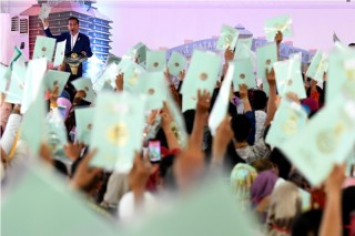 155.000 Sertifikat Tanah Baru Diterbitkan di Riau